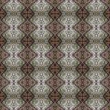 美好的无缝的东部地毯装饰样式、抽象装饰品在周围和正方形或者菱形元素 纹理backg 库存照片