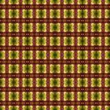 美好的无缝的东部地毯装饰样式、抽象装饰品在周围和正方形或者菱形元素 纹理backg 免版税库存图片