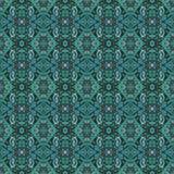 美好的无缝的东部地毯装饰样式、抽象装饰品在周围和正方形或者菱形元素 纹理backg 免版税库存照片