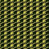 美好的无缝的几何样式 免版税库存图片