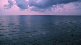 美好的日落的热带海运 影视素材