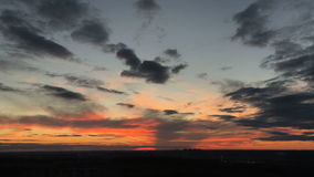 美好的日落背景时间间隔 影视素材