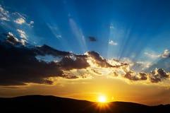 美好的日落