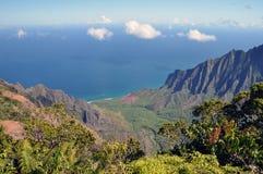 美好的早晨在考艾岛,夏威夷 免版税库存图片