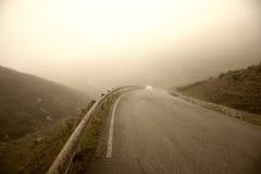 美好的有雾的早晨 库存图片