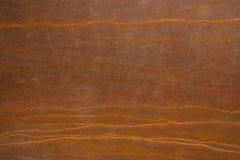 美好的样式老金属铁铁锈纹理,吸收的朽烂用途 免版税库存图片