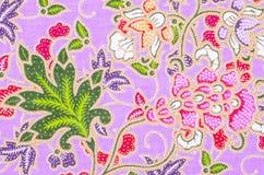 美好的桃红色蜡染布 免版税库存照片
