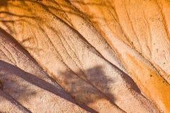 美好的横向在与壮观的石forma的Bryce峡谷 库存图片