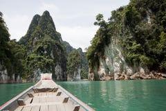 美好的水坝旅行方式 免版税图库摄影