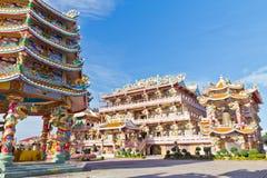美好的汉语祀奉寺庙 库存照片