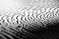 美好的沙丘形成在死亡谷加利福尼亚 免版税库存照片