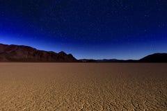 美好的沙丘形成在死亡谷加利福尼亚 图库摄影