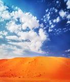 美好的沙漠横向 库存照片