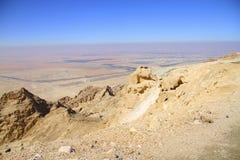 美好的沙漠视图 免版税库存照片