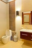 美好的洗手间 免版税库存照片