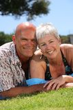 美好的浪漫夫妇 免版税库存图片