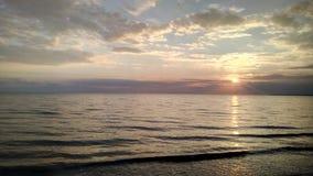 美好的海呼吸 免版税库存图片