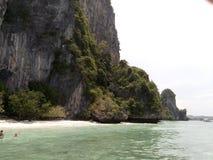美好的海岛场面在普吉岛 库存照片