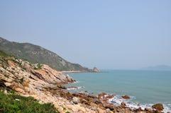 美好的海岸线路 库存照片