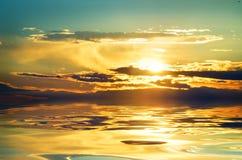 美好的海景。 图库摄影
