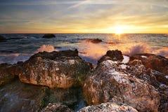 美好的海景 免版税图库摄影