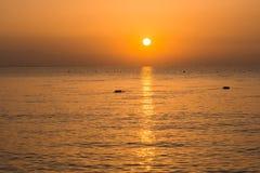 美好的海风景在土耳其 图库摄影