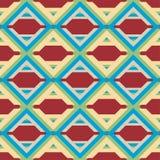 美好的现代几何无缝的样式背景 库存照片