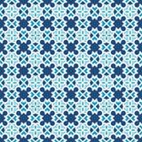 美好的现代几何无缝的样式背景 库存图片