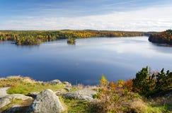 美好的瑞典10月 免版税库存照片