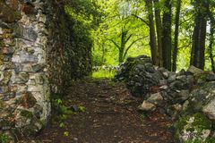 美好的瓦尔maggia自然风景瑞士 库存照片