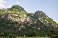 美好的瓦尔maggia自然风景瑞士 免版税库存图片