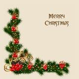 8美好的看板卡圣诞节eps文件例证包括了结构树葡萄酒 免版税库存图片