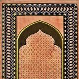 美好的祈祷的地毯样式 图库摄影