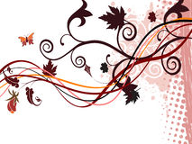 美好的秋天摘要背景 库存照片