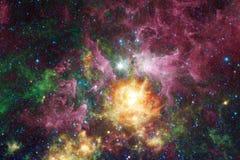 美好的空间背景 Cosmoc艺术 美国航空航天局装备的这个图象的元素 免版税图库摄影