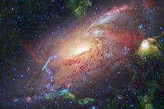 美好的空间背景 Cosmoc艺术 美国航空航天局装备的这个图象的元素 图库摄影