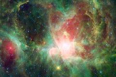 美好的空间背景 Cosmoc艺术 美国航空航天局装备的这个图象的元素 库存照片