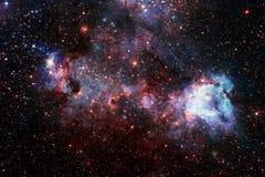 美好的空间背景 Cosmoc艺术 美国航空航天局装备的这个图象的元素 免版税库存照片