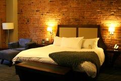 美好的空间在小店旅馆里 库存图片