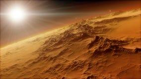 美好的空间的图象与行星的 免版税图库摄影