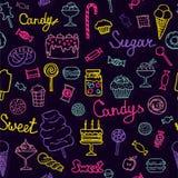 美好的糖果收藏 库存图片