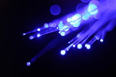 美好的纤维光学 库存图片