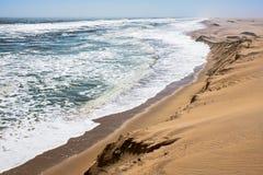 美好的纳米比亚风景 免版税图库摄影
