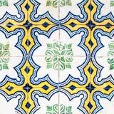 美好的艺术纹理/传统华丽葡萄牙装饰 免版税图库摄影
