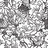 美好的花卉模式 免版税库存图片