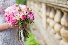 美好的花束婚礼 免版税库存图片