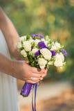 美好的花束婚礼 免版税库存照片