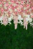 美好的花背景 库存图片
