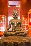 美好的菩萨图象在Luang唱Kaew博物馆的洪,城镇 免版税图库摄影