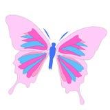 美好的蝴蝶例证 库存例证